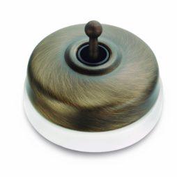 Vypínač Dimbler porcelán/kov Fontini