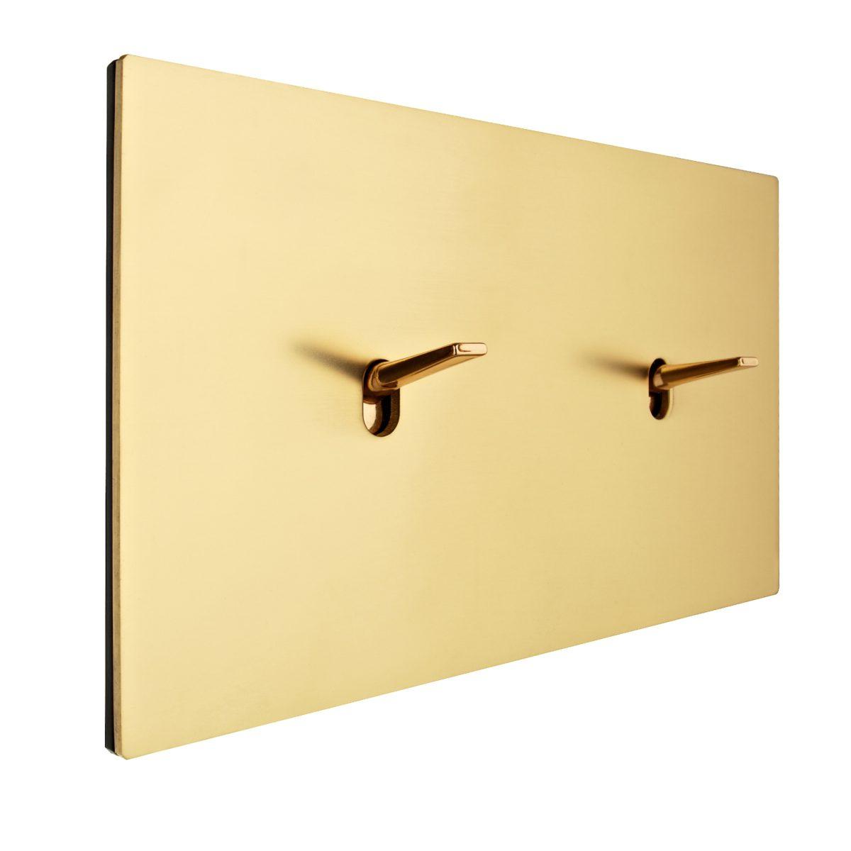 FONT BARCELONA 5.1 Collection - kryt a dvě páčky zlatá