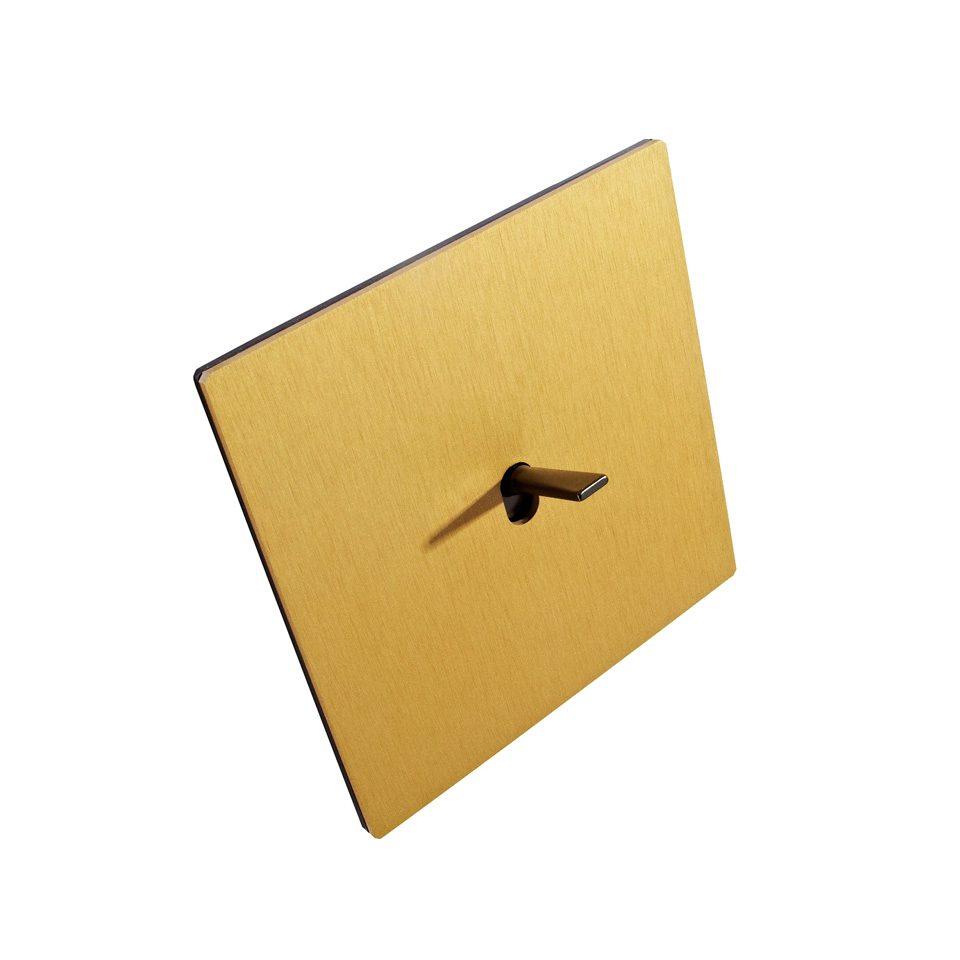 FONT BARCELONA 5.1 Collection - kryt zlatá, páčka antická bronz