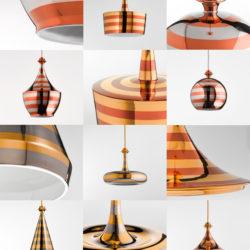 Kolekce závěsných stropních svítidel Linea Illustri Aldo Bernardi