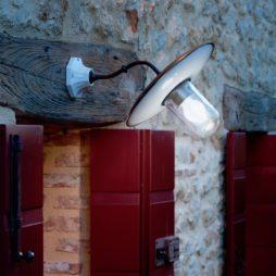 Nástěnné mosazné rustikální svítidlo Linea Alsole Aldo Bernardi