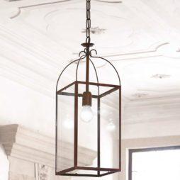 Závěsné stropní mosazné svítidlo Linea Aida Aldo Bernardi