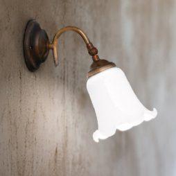 Nástěnné mosazné svítidlo Linea D´Epoca Aldo Bernardi