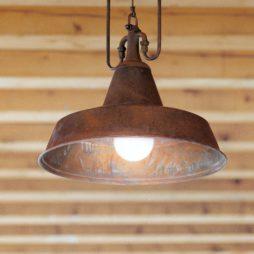 Závěsné stropní mosazné svítidlo Linea Fonderia Aldo Bernardi