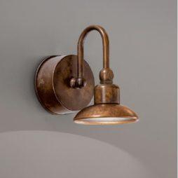 Nástěnná mosazná lampa Linea Bugatti od Aldo Bernardi