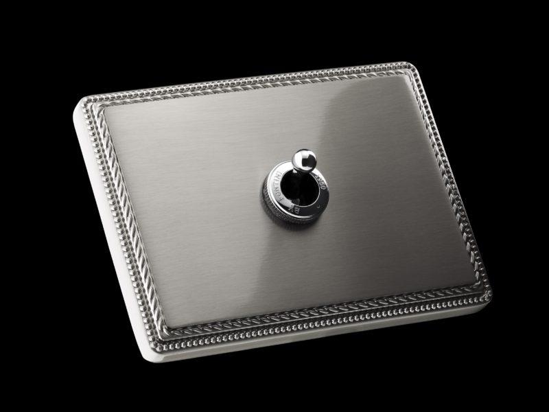 FONT BARCELONA 1950 Collection - rámeček matný nikl, páčka chrom