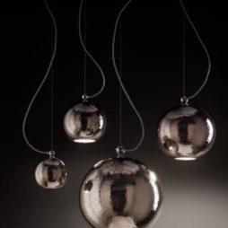 Designové závěsné stropní svítidlo Linea Bolle od Aldo Bernardi