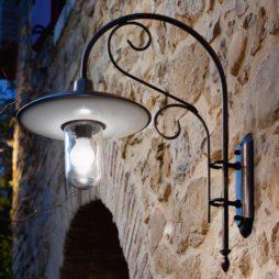 Nástěnná venkovní rustikální lampa Linea Otello od Aldo Bernardi