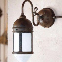 Nástěnné mosazné svítidlo Linea Postierla od Aldo Bernardi