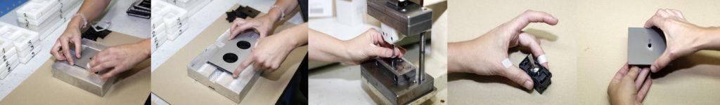 Výroba zakázkových vypínačů 5.1 Collection Font Barcelona