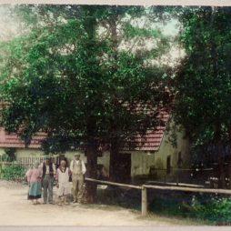 Mlýn Světce historická fotografie
