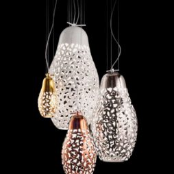 Designová porcelánová svítidla Linea Matrioške od Aldo Bernardi