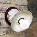 Porcelánová nástěnná lampa Linea Isola