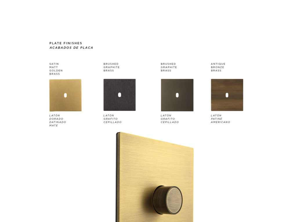 5.1 Collection FONT BARCELONA - Antique Bronze dimmer