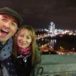 článek v blogu - návštěva Bratislavy