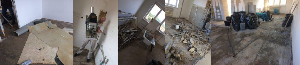 článek v blogu - rekonstrukce showhome