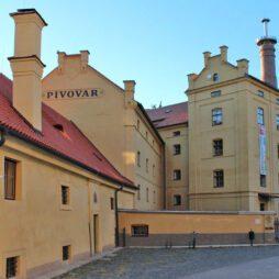 Pivovar v Plasech - hlavní budova
