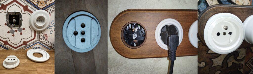 Prasjnutí porcelánové/plastové zásuvky Garby Colonial - špatná instalace nebo zacházení s produktem